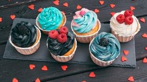Cupcake Dessert 5616x3744 wallpaper