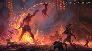 The Elder Scrolls Online The Elder Scrolls Online Flames Of Ambition RPG Video Games PC Gaming 2021  1920x1200 Wallpaper