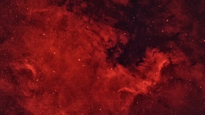 Nebula Red Space Stars 2000x1328 Wallpaper