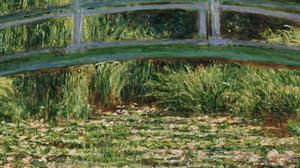 Phone Vertical Claude Monet Green Spring Impressionism Oil Painting Classic Art 1080x1920 Wallpaper
