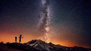 Landscape Morty Smith Rick Sanchez Rick And Morty Stars 2560x1600 Wallpaper