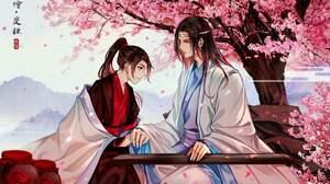 Lan Wangji Lan Zhan Wei Ying Wei Wuxian 2048x1241 Wallpaper