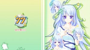 Sevens And Two Stars Meet Again Kuu Anime Series Anime Girls Looking At Viewer Pentagram Halo Stars  1920x1200 Wallpaper