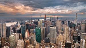 Building City Cityscape New York Skyscraper Usa 3071x1922 Wallpaper