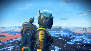 Video Games No Mans Sky Video Game Characters Spacesuit Astronaut Screen Shot 3840x2160 Wallpaper
