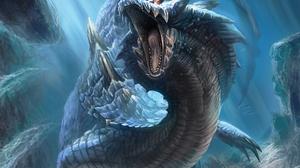 Fantasy Sea Monster 1920x1372 Wallpaper