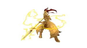 Dark Souls Dragon Slayer Ornstein Spear Armor Knight 2560x1440 Wallpaper