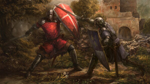 Armor Fight Shield Sword 1920x1280 Wallpaper