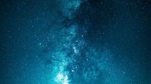 Portrait Display Vertical Artwork Digital Art Space Stars Milky Way Planet 3260x5794 Wallpaper
