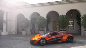 Car Mansion Mclaren Mclaren P1 Orange Car Supercar Vehicle 6000x4000 Wallpaper