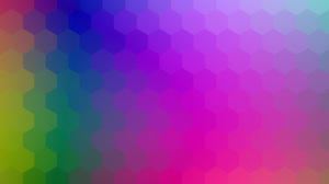 Artistic Colorful Colors Geometry Hexagon Pattern 4000x3000 Wallpaper