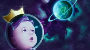 Baby Planet Planetary Rings Nebula Crown King Prince Earth Galaxy 3840x1920 Wallpaper