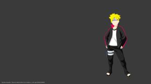 Blonde Boruto Uzumaki Boruto Naruto Next Generations Boy Minimalist 8000x4500 Wallpaper