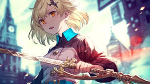 Girl Sword 2104x1500 Wallpaper
