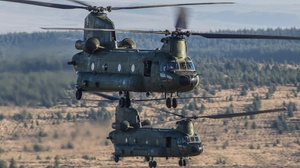 Helicopter Aircraft Transport Aircraft 4502x3001 wallpaper