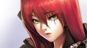 Armor Katarina League Of Legends Red Hair Scar 1900x1069 Wallpaper