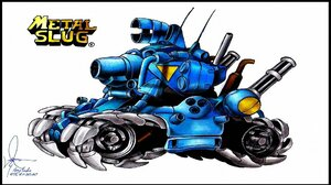 Video Games Metal Slug White Background Simple Background Tank Video Game Art Vehicle 1920x1080 Wallpaper