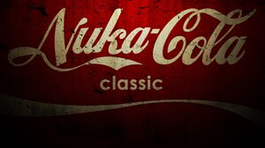 Video Games Fallout Nuka Cola Red Grunge 1900x1080 Wallpaper