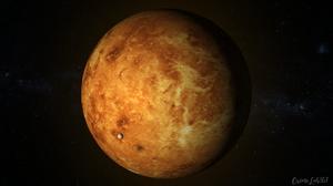 Venus Planet Watermarked Space 1920x1080 Wallpaper