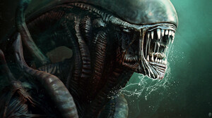 Marcus Whinney Artwork Creature Science Fiction Horror Xenomorph 1295x1509 Wallpaper