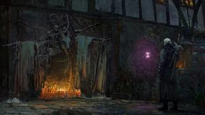 Geralt Of Rivia 1920x1080 wallpaper