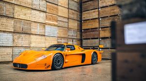 Maserati Car Orange Car Sport Car Supercar 2500x1406 Wallpaper