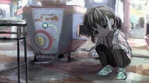 Animated Character Original Characters Children 3840x2180 Wallpaper