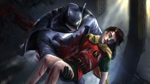 Batman Dc Comics Robin Dc Comics 3840x2160 Wallpaper