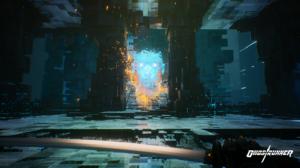 Video Games Screen Shot Ghostrunner Cyberpunk Katana Science Fiction Video Game Characters Artificia 1920x1080 Wallpaper