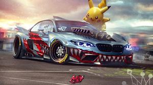 Artistic Bmw M2 Pikachu 4961x3047 Wallpaper