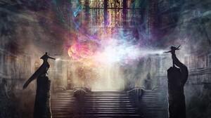 Elemental Magic 3000x1475 Wallpaper