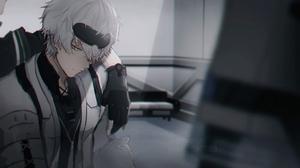 Punishing Gray Raven Gray Raven Anime Yellow Eyes Anime Boys 2046x1157 Wallpaper