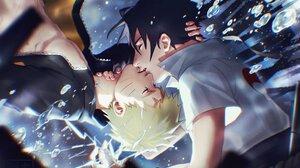 Naruto Uzumaki Sasuke Uchiha Boy 2048x1536 Wallpaper