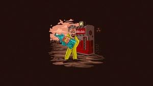 Nuka Cola Walter White Artwork Fallout Fallout 4 1920x1080 Wallpaper