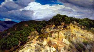 Storm Painting 2951x2032 Wallpaper