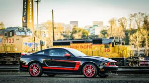 Ford Mustang Boss 302 Laguna Seca Muscle Car Coupe Car 2048x1152 Wallpaper