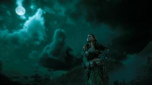 Horizon Zero Dawn Girl Front Line Women Game Characters Landscape Low Angle Video Games Screen Shot  3840x2160 Wallpaper
