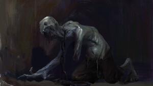 Dark Monster 1920x1276 wallpaper