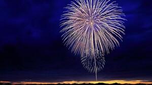 Fireworks Night Sky 3165x2374 wallpaper