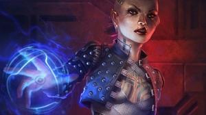 Jack Mass Effect 1440x1080 Wallpaper