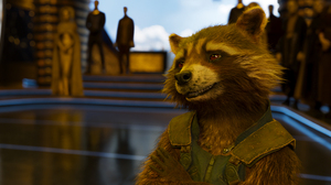 Guardians Of The Galaxy Vol 2 Rocket Raccoon 2153x1136 wallpaper