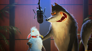 Humor Sheep Wolf Artwork Microphone 1920x1080 Wallpaper