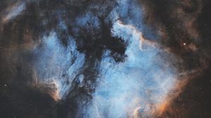 Space Nebula Stars Clouds Pelican Nebula North American Nebula 8058x5889 Wallpaper