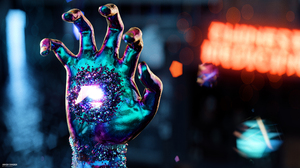 Digital Artwork Crystal Robot Colorful 3840x2160 Wallpaper
