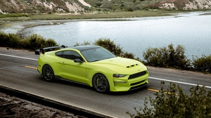 Car Ford Ford Mustang Green Car Muscle Car Vehicle 2500x1596 Wallpaper