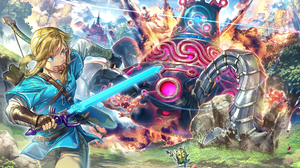 Link The Legend Of Zelda Breath Of The Wild 2400x1500 Wallpaper