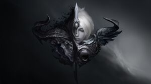 Order Chaos Riven Yasuo Dark Background Evil Heaven Hell Gray Hair 1920x1234 Wallpaper