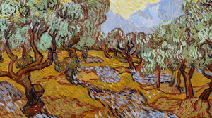 Vincent Van Gogh Painting Oil Painting Oil On Canvas Impressionism 4740x1984 Wallpaper