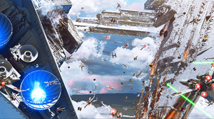 Battle Star Destroyer Star Wars X Wing 2880x1323 Wallpaper