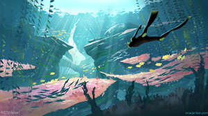 Video Game Abzu 1920x1056 wallpaper